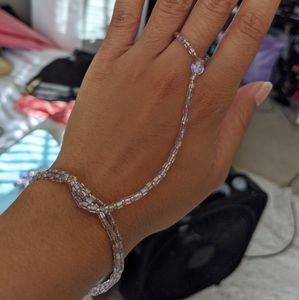 Hand Made Ring Bracelet